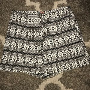 Charolette Russe Tribal Print Shorts
